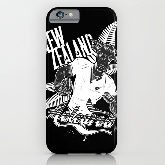Rugby Cow iPhone & iPod Case