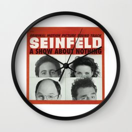 Seinfeld Wall Clock