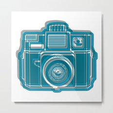 I Still Shoot Film Camera Logo Metal Print