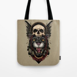 Hunt Or Be Hunted Tote Bag