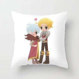 Dragon Age - Cullen and Trevelyan Throw Pillow