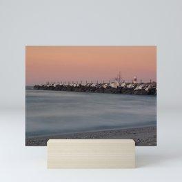 Ocean Sunset Mini Art Print