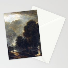 Aert van der Neer The Farrier Stationery Cards