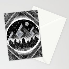 Touch the Mountains Stationery Cards