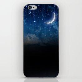 Summer night sky iPhone Skin