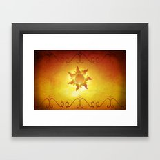 ...and at last i see the light! Framed Art Print