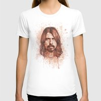 dave grohl T-shirts featuring Dave Grohl by Renato Cunha