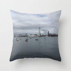 Spinnaker Tower, Portsmouth UK Throw Pillow