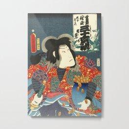 Jiraiya and Violins Metal Print