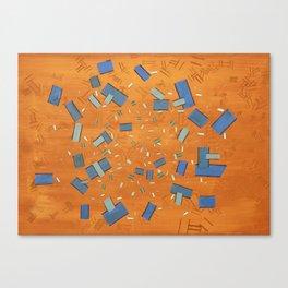 It Moves Canvas Print