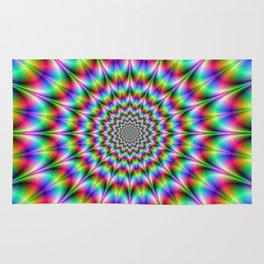Psychedelic Explosion Rug