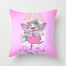 Princess Moi! Throw Pillow