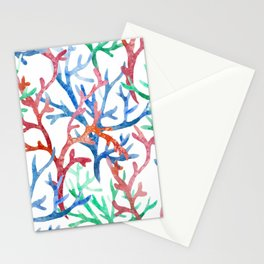 Sea Life Pattern 03 Stationery Cards