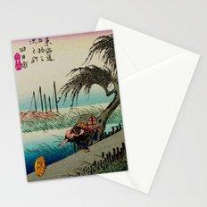 Yokkaichi - Vintage Japanesse Ukiyo e Art Stationery Cards