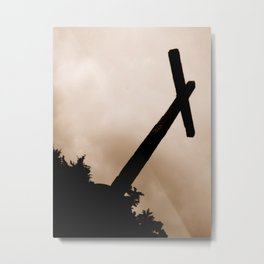 Cross Over Antigua, Guatemala Metal Print