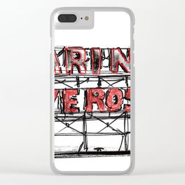 city sign_2 Clear iPhone Case