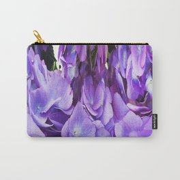 492 - Abstract Flower Design Carry-All Pouch