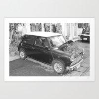 Car Garden Art Print