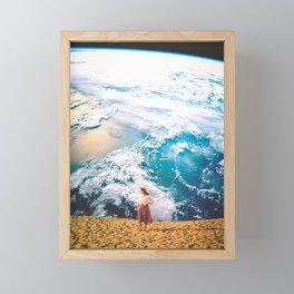 The World Left Behind Framed Mini Art Print