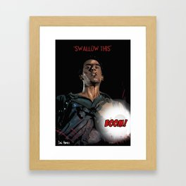 Evil Dead - Ash Says Framed Art Print