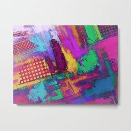 Urban angles Metal Print