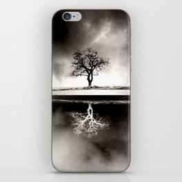 SOLITARY REFLECTION iPhone Skin