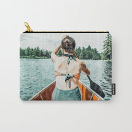 Row Your Own Boat #illustration #decor #painting Carry-All Pouch