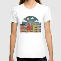 stockholm T-shirts featuring Stockholm by HOONISME