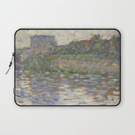 The Seine at Courbevoie Laptop Sleeve