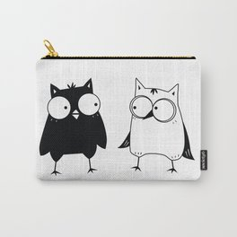 Animal Friendship series- Owls 2 Carry-All Pouch