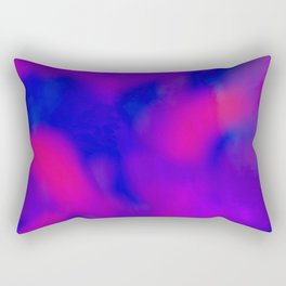 pink red and blue Rectangular Pillow