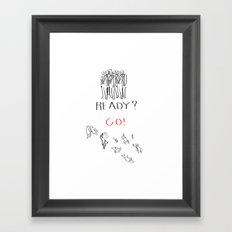 Beautiful Illustration Framed Art Print