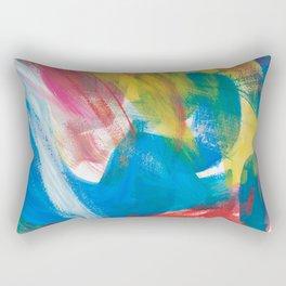 Abstract Artwork Colourful #4 Rectangular Pillow