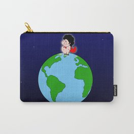 Taking over the world Carry-All Pouch