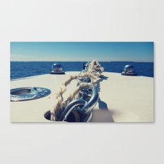 Anchored  Canvas Print