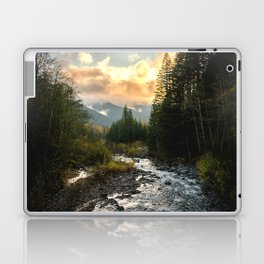 The Sandy River I - nature photography Laptop & iPad Skin