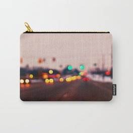 City Lights Bokeh Carry-All Pouch