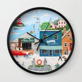Where the Buoys Are Wall Clock