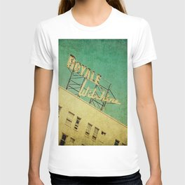 1926 Wilshire Royale Art Deco Vintage Sign T-shirt