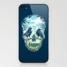 Nature's Skull iPhone & iPod Skin