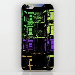 In the DC Streets  iPhone Skin