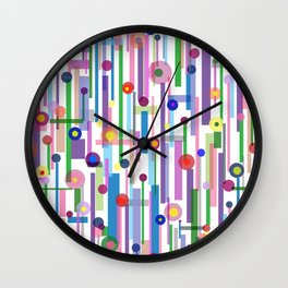 Plink (see also Plink Cherry and Plink Purple) Wall Clock
