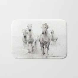 Ghost Riders - Horse Art Bath Mat