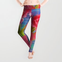 Pink Gladiolus - Mother's Day Leggings
