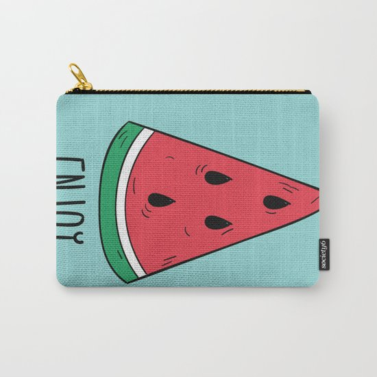 Enjoy Summer Carry-All Pouch
