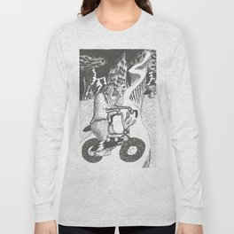Candle Bike Long Sleeve T-shirt