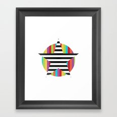Star & Stripes Framed Art Print