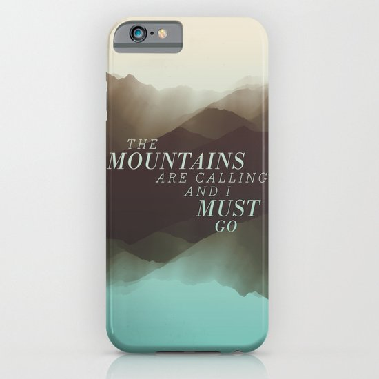Mountains - Color iPhone & iPod Case