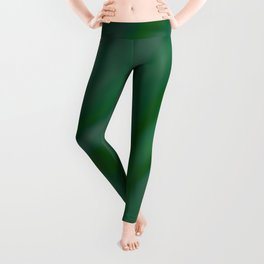 Green SWIRL Leggings