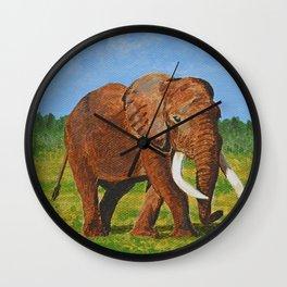 Strutting Wall Clock